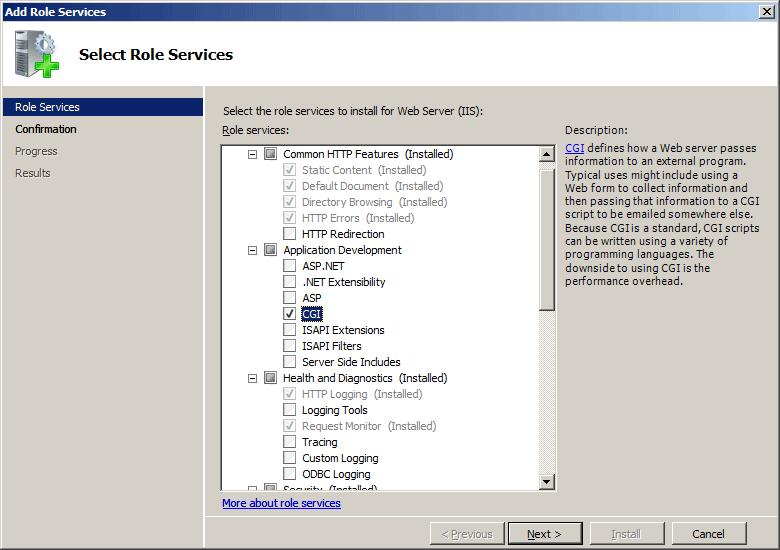 FastCGI <fastCgi> | Microsoft Docs