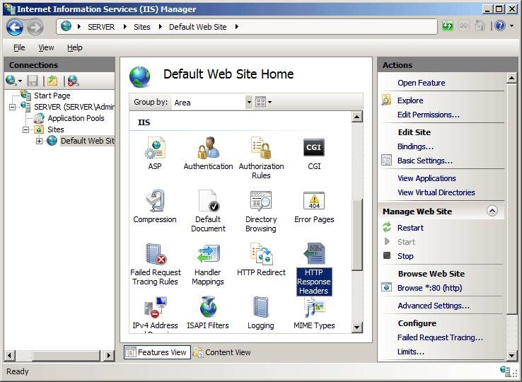 HTTP Protocol Settings <httpProtocol>   Microsoft Docs
