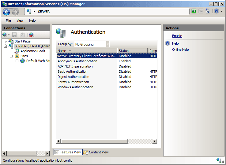 Client Certificate Mapping Authentication ...
