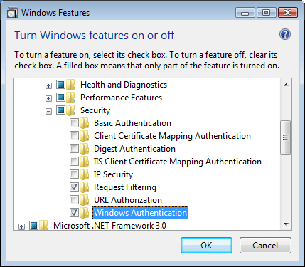 Windows Authentication <windowsAuthentication> | Microsoft Docs