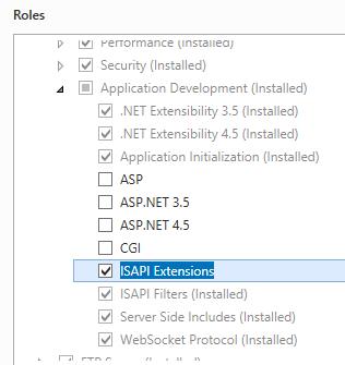Adding ISAPI/CGI Restrictions <add>   Microsoft Docs