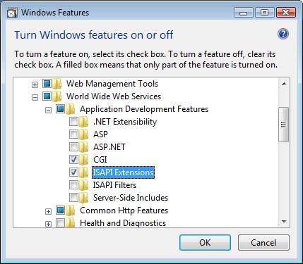 microsoft isapi redir download