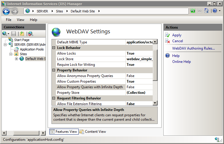 Adding XML Namespace to Property Provider Mappings <add