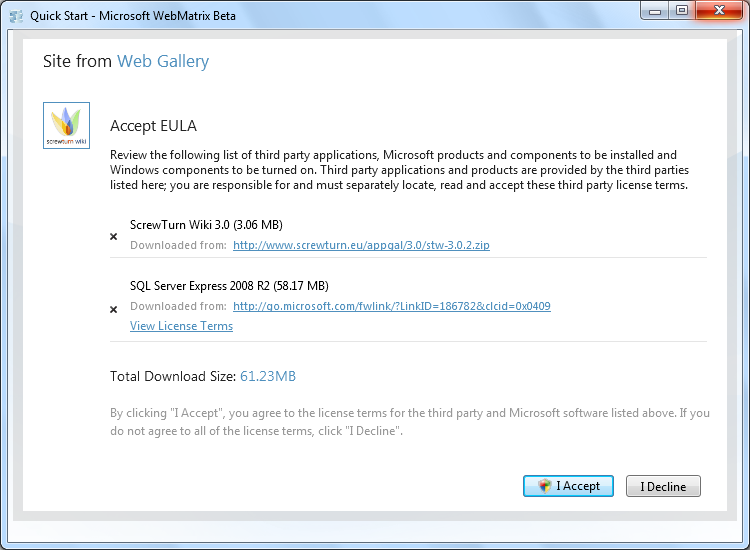 Download and Install an ASP NET Application | Microsoft Docs