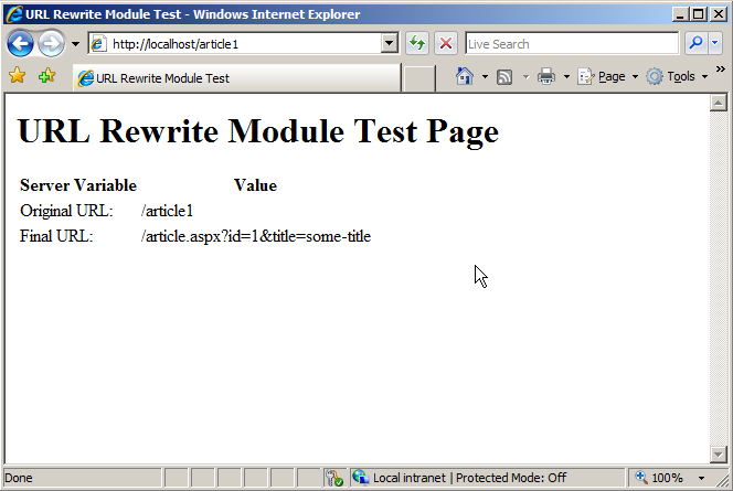 Using Rewrite Maps in URL Rewrite Module | Microsoft Docs
