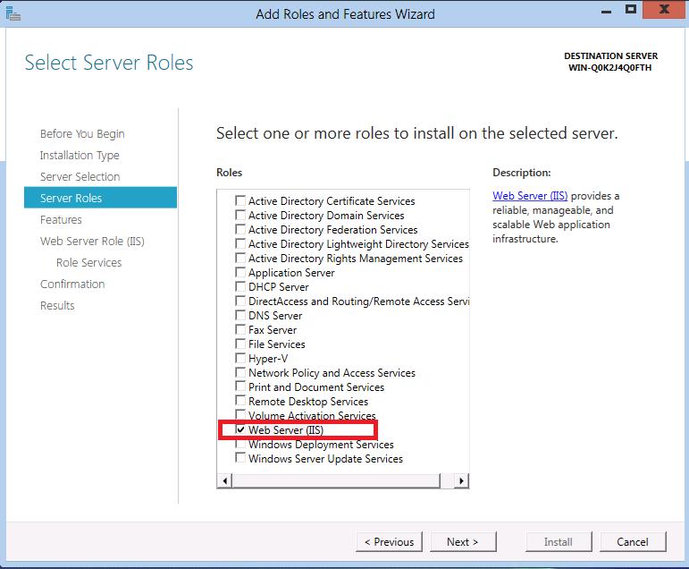 IIS 8 0 Using ASP NET 3 5 and ASP NET 4 5 | Microsoft Docs