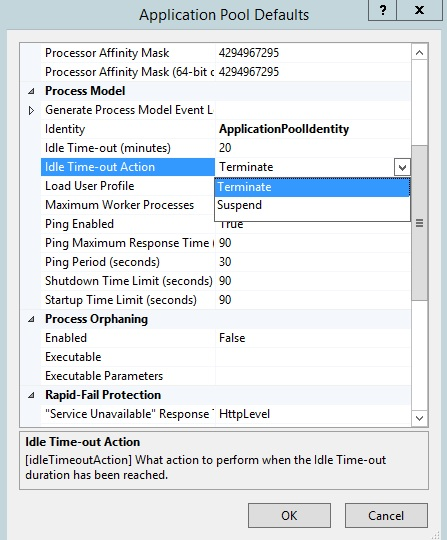 Idle Worker Process Page-Out in IIS 8 5 | Microsoft Docs