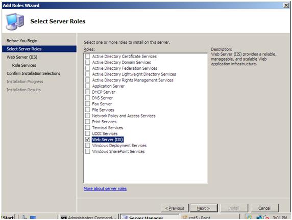 microsoft iis download windows 7