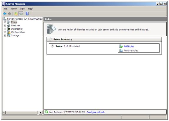 install iis windows 2008 r2 standard