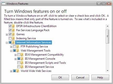 Installing IIS 7 on Windows Vista and Windows 7 | Microsoft Docs