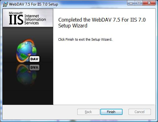 Installing and Configuring WebDAV on IIS 7 and Later