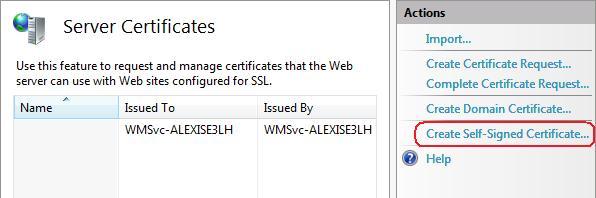 How to Set Up SSL on IIS 7   Microsoft Docs