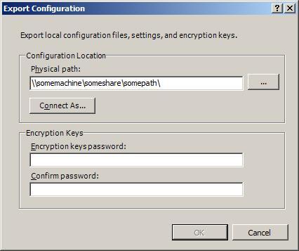 Shared Configuration | Microsoft Docs