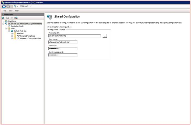Shared Configuration and Remote Provisioning   Microsoft Docs
