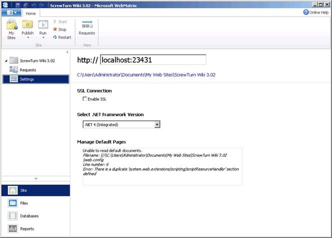 ScrewTurn Wiki   Microsoft Docs