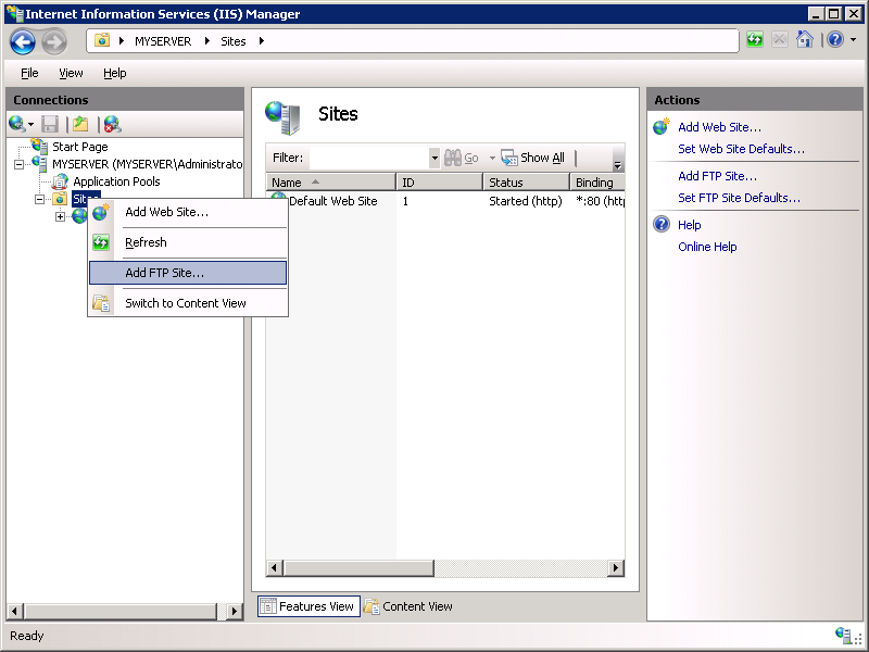 Configuring Ftp User Isolation In Iis 7 Microsoft Docs