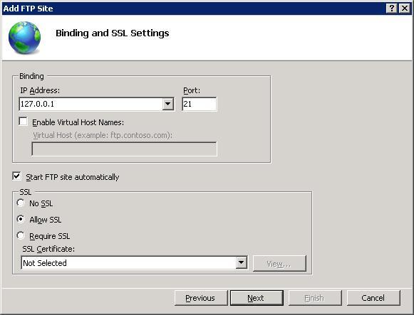 Using FTP Over SSL in IIS 7 | Microsoft Docs