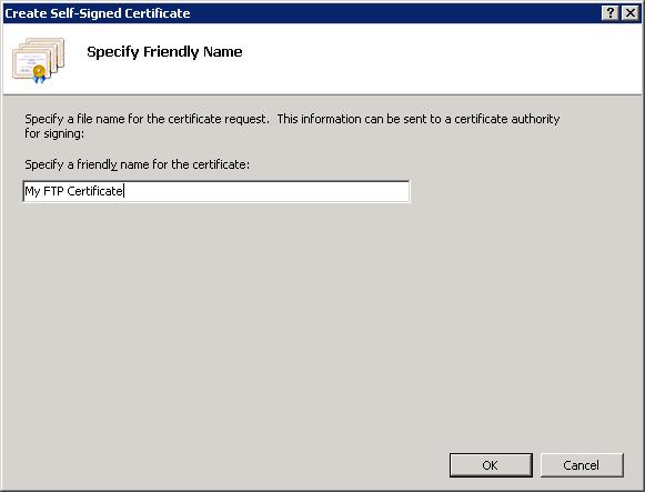 Using FTP Over SSL in IIS 7   Microsoft Docs