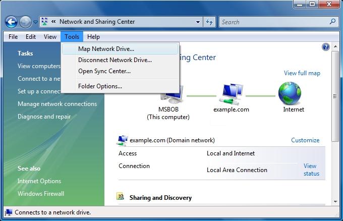 Using The WebDAV Redirector Microsoft Docs - Windows network mapping tool