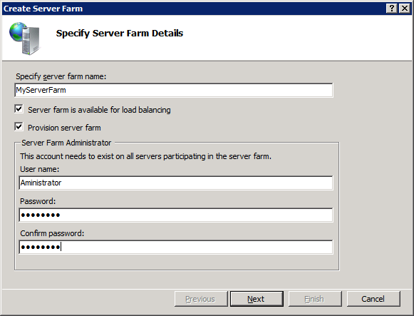 Setting up a Server Farm with the Web Farm Framework 2 0 for