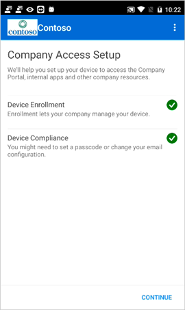 Enroll Android device with Intune Company Portal | Microsoft Docs
