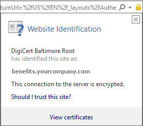 Your device is missing a certificate | Microsoft Docs