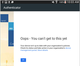 Resolving threats found by Lookout for Work on Android | Microsoft Docs