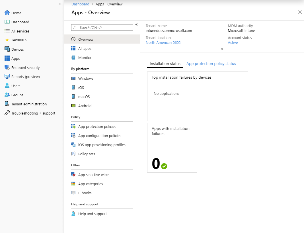 What Is App Management In Microsoft Intune Microsoft Docs