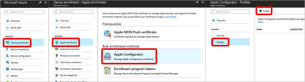 iOS device enrollment - Apple Configurator-Setup Assistant