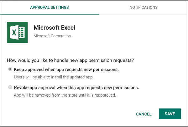 Assign Managed Google Play apps to Android Enterprise