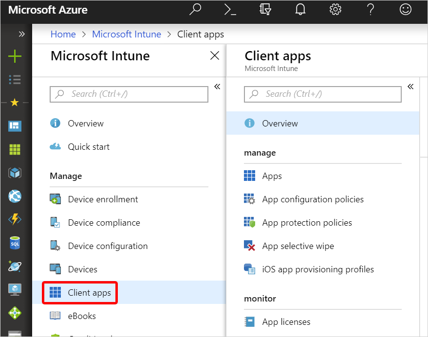 What is app management in Microsoft Intune? | Microsoft Docs