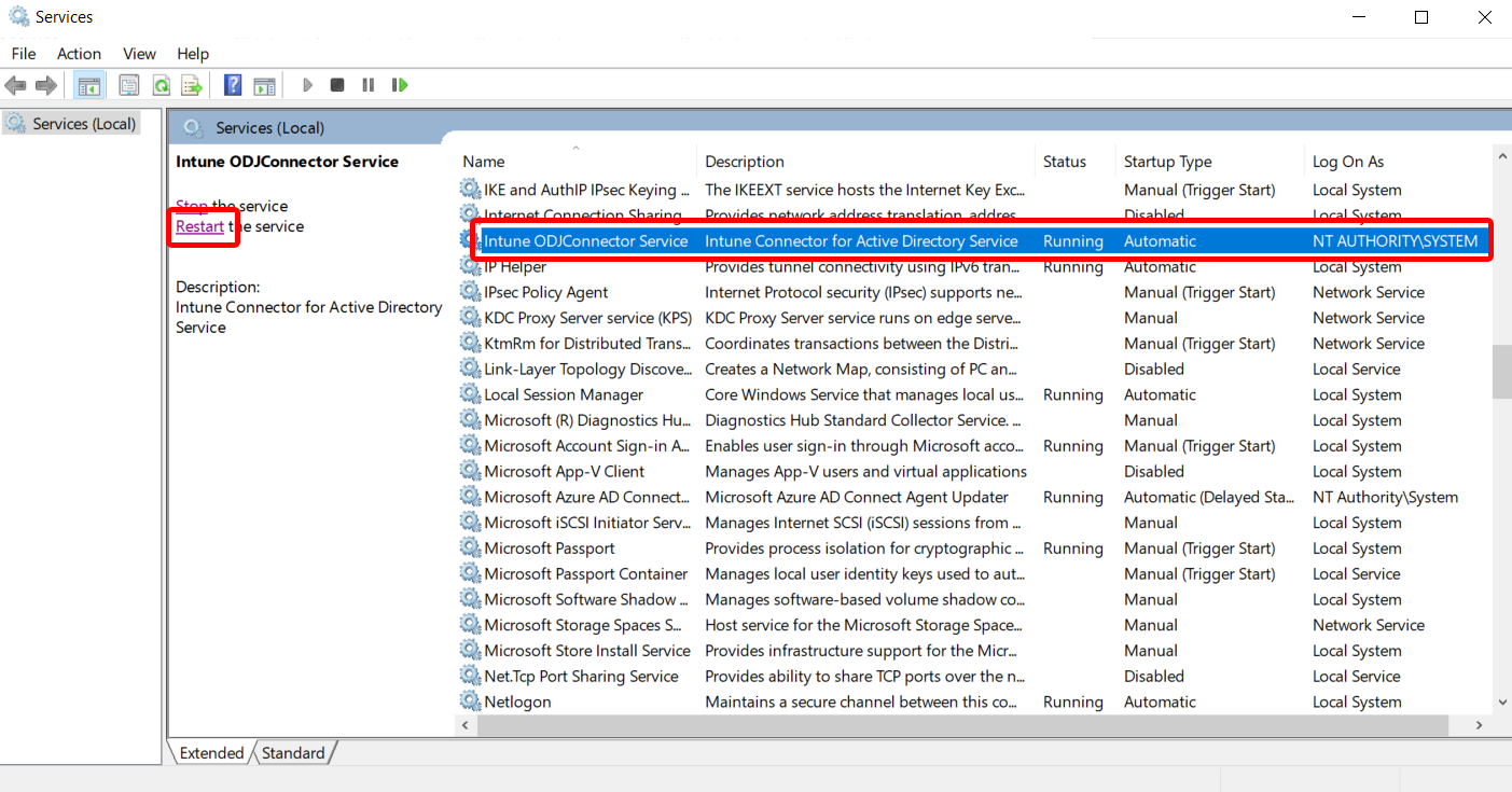 Configure proxy settings for the Intune Connector for Active