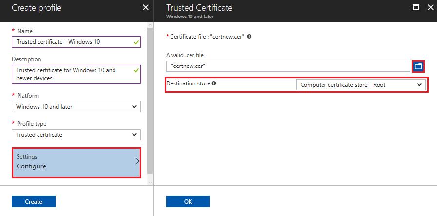 Use PKCS certificates with Microsoft Intune - Azure | Microsoft Docs