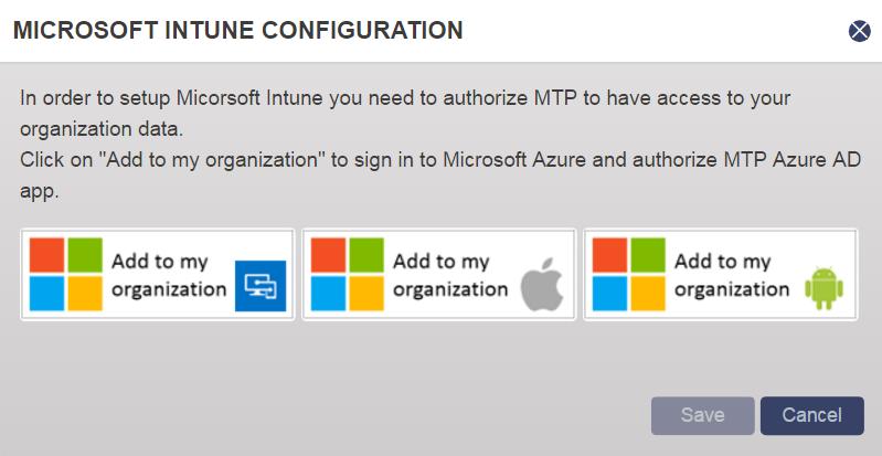 Integrate Check Point SandBlast MTD - Microsoft Intune