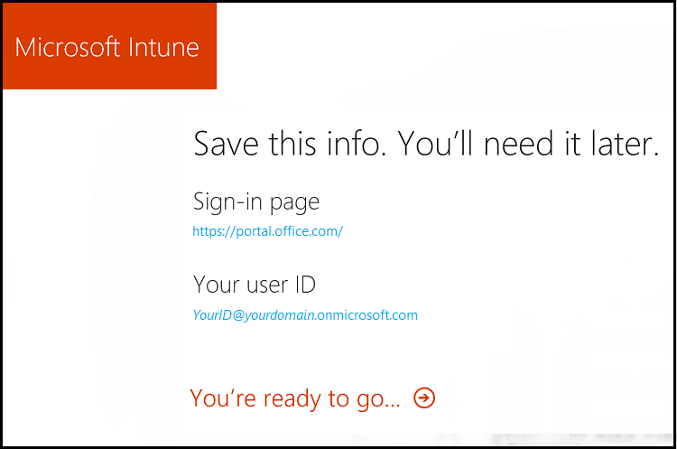 Quickstart - Try Microsoft Intune for free | Microsoft Docs