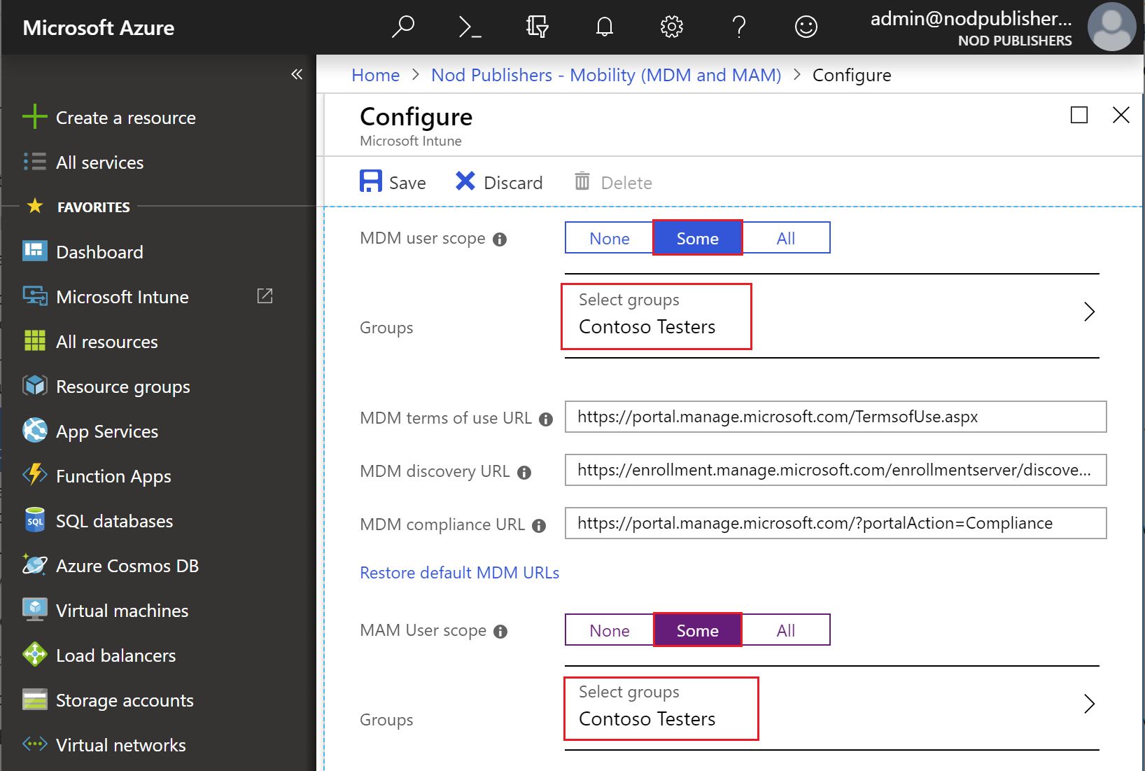 Quickstart - Set up automatic enrollment in Intune