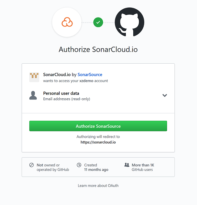 Integrate Visual Studio Team Services with SonarCloud