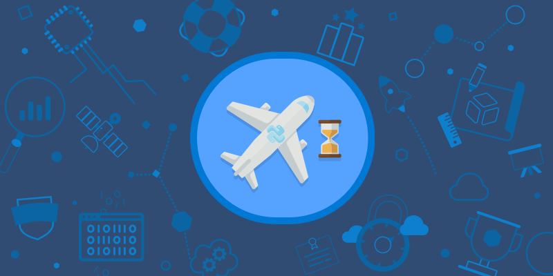 Predict flight delays by creating a machine learning model