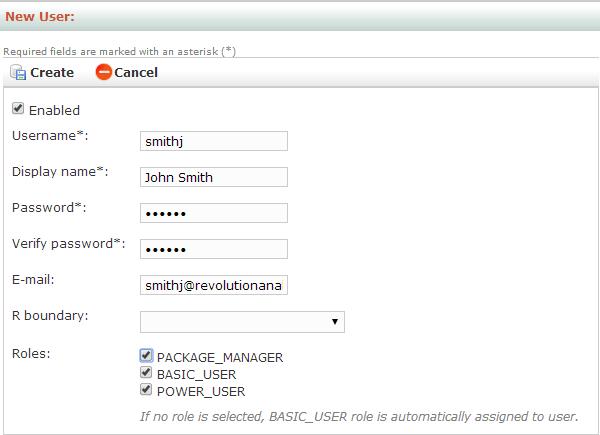 DeployR Administration Console Help - DeployR 8 x | Microsoft Docs