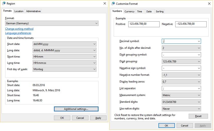 Number Formatting Globalization Microsoft Docs