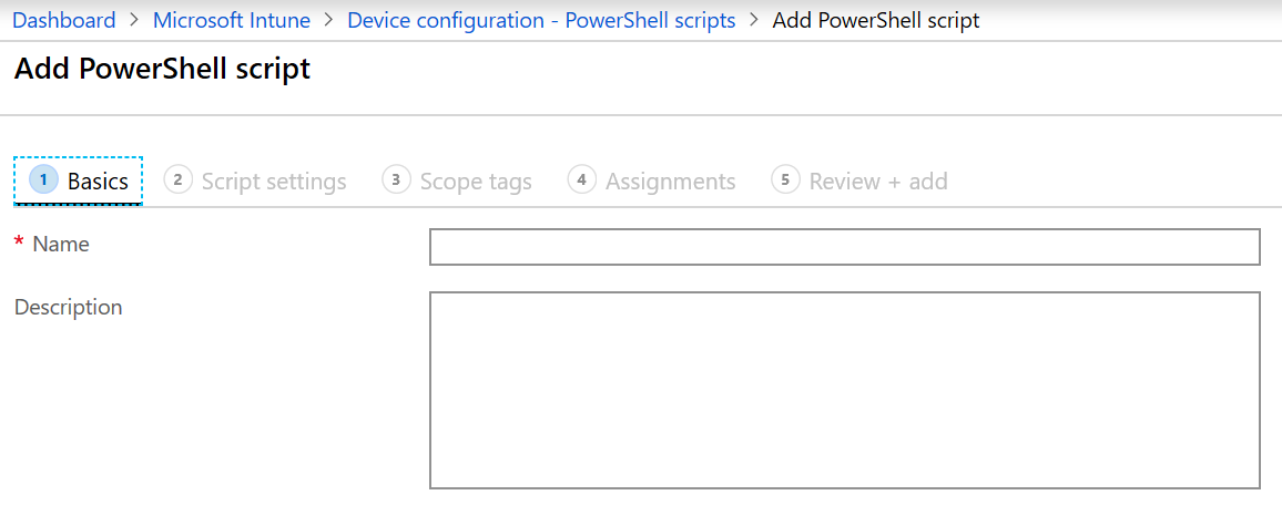 Add and use PowerShell scripts in Microsoft Intune