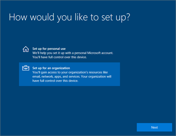 Set up Windows devices for Microsoft 365 Business users