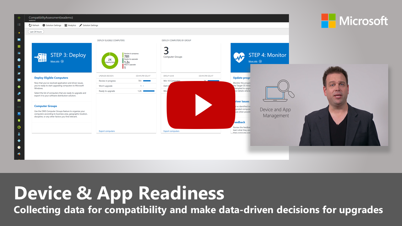 Step 1 - Device and App Readiness | Microsoft Docs