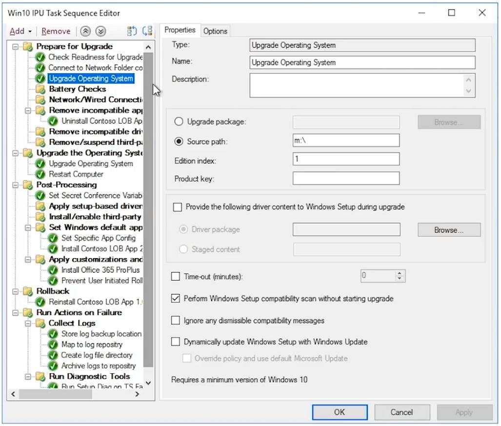 Windows 7 to Windows 10 automated upgrades | Microsoft Docs