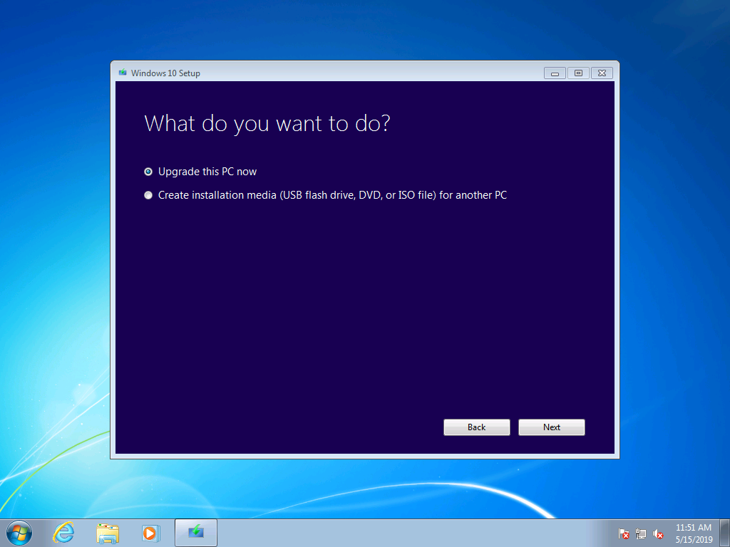 windows 7 to windows 10 manual upgrade guide