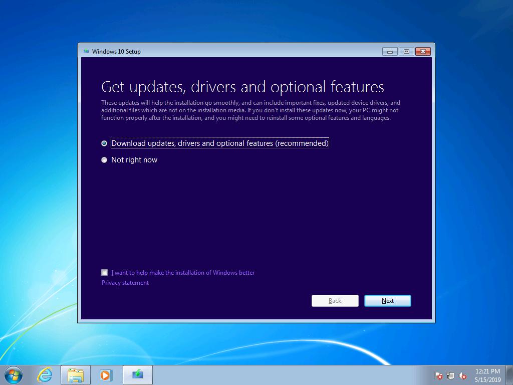 Windows 7 to Windows 10 manual upgrade guide | Microsoft Docs