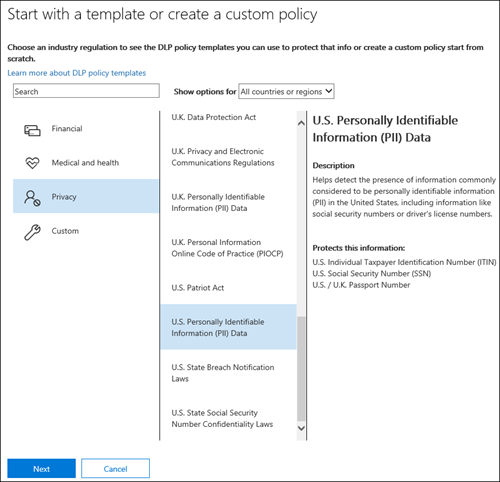 Overview Of Data Loss Prevention Microsoft 365 Compliance