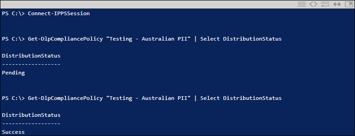 Running cmdlet in PowerShell
