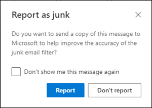 Report Notification