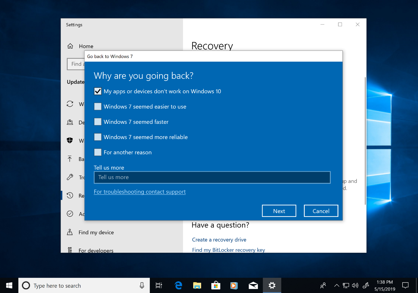 can you upgrade to windows 10 from windows 7